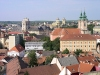 Hungary / Ungarn / Magyarország - Eger: rooftops and towers as seen from the Castle (photo by J.Kaman)