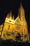 Hungary / Ungarn / Magyarország -Budapest: Matthias / St Mathew's church at night (photo by J.Kaman)
