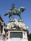 Hungary / Ungarn / Magyarország - Budapest: Equestrian statue of Eugene of Savoy on the Castle Hill (photo by J.Kaman)