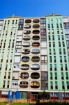 Hungary / Ungarn / Magyarorsz�g - P�cs: apartment block (photo by P.Gustafson)