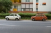 Hungary / Ungarn / Magyarorsz�g - P�cs: Polish Fiat 126's (photo by P.Gustafson)