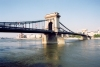 Hungary / Ungarn / Magyarorsz�g - Budapest: Chain bridge - seen from Buda (photo by Miguel Torres)