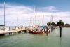 Hungary / Ungarn / Magyarország - Balatonfüred: Marina by the Mahart Ferry Pier (photo by Miguel Torres)