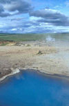 Iceland - Geysir: blue waters - photo by W.Schipper