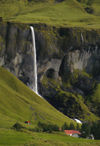 Iceland - Dverghamrar: Rural waterfall scenic (photo by B.Cain)