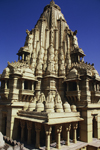India - Mount Abu, Rajasthan: Jain temple - photo by E.Petitalot