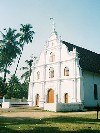 India - Cochin / Cochim / Kochi: Portuguese church (photo by B.Cloutier)