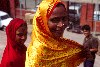 India - New Delhi: Muslim lady  (photo by Francisca Rigaud)