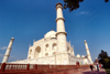 India - Agra (Uttar Pradesh) / AGR : Agra: Taj Mahal / Tádžmahál - wide angle view - Unesco world heritage site (photo by Francisca Rigaud)