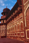 India - Agra (Uttar Pradesh) / AGR: Emperor's palace - the fort (photo by Francisca Rigaud)