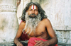 India - Udaipur: holy man - sadhu / Sadu - photo by J.Kaman