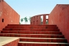India - Delhi: Jantar Mantar - astronomical observatory (photo by J.Kaman)
