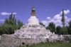 India - Ladakh - Jammu and Kashmir: stupa - religion - Buddhism - photo by W.Allg�wer