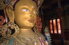 India - Ladakh - Jammu and Kashmir: Tikse monastery - Maitreya Bodhisattva (Sanskrit) - the future Buddha in Buddhist eschatology - photo by W.Allg�wer