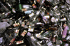 India - Ladakh - Jammu and Kashmir: rubbish - pile of empty beer bottles - photo by W.Allg�wer