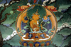 India - Ladakh - Jammu and Kashmir: wisdom Bodhisattva - Manjushri with the sword of cognition - being dedicated to assisting sentient beings in achieving complete Buddhahood - photo by W.Allg�wer
