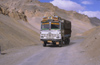 India - Ladakh - Jammu and Kashmir: Tata truck in the the Himalayas - transportation - photo by W.Allg�wer
