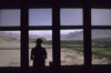 India - Ladakh - Jammu and Kashmir - Tikze: view from the monastery towards the Indus valley - photo by W.Allg�wer