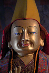 India - Ladakh - Jammu and Kashmir: Buddha with hat - photos of Asia by Ade Summers