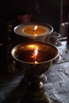 India - Ladakh - Jammu and Kashmir: butter lamps at a Gompa - photos of Asia by Ade Summers