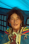 India - Ladakh - Jammu and Kashmir: Ladakhi woman in her tent - photos of Asia by Ade Summers
