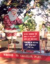 India - Pondicherry: strong messages - road safety campaign aimed at children - Santa Klaus in India! (photo by Miguel Torres)