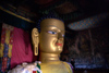 India - Ladakh - Jammu and Kashmir: Shey - three-storey high golden Buddha at Shey Palace - photos of Asia by Ade Summers
