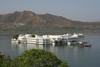 Udaipur, Rajasthan, India: Lake Palace on Lake Pichola - photo by M.Wright