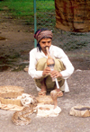 India - Uttar Pradesh: Snake charmer (photo by Miguel Torres)