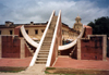 India - Jaipur (Rajasthan): Jantar Mantar - observatory of Mahraja Jai Singh II - UNESCO world heritage - photo by M.Torres