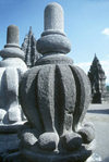 Indonesia - Java - Borbudur: stupa, Javanese style - Unesco world heritage site - photo by M.Sturges