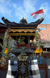 Seminyak, Bali, Indonesia: Hindu Shrine - photo by D.Jackson