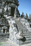 Indonesia - Java - Borobudur, Magelang: stairway to perfection - temple entrance - Unesco World Heritage site - photo by M.Sturges