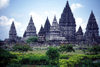 Java - Prambanan temples: thinking of Angkor Wat - Hindu temple - Unesco world heritage site - photo by M.Sturges