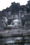 Java - Borobudur: Buddha - photo by M.Sturges