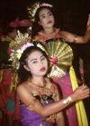 Indonesia - Bali: traditional dancers - photo by M.Sturges
