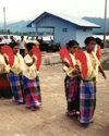 Sulawesi / Celebes island - Palopo village: dancers - photo by G.Frysinger