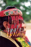Indonesia - Western Timor: Usif Nesy Mope - Raja of Amanuban - traditional ruler - hereditary - chief - chieftain - photo by D.Tick