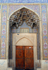 Iran - Shiraz: gate on LotfAli Khan-e Zand Street - photo by M.Torres