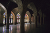 Iran - Shiraz: Nasir al-Mulk Mosque - prayer hall - LotfAli Khan-e Zand Street - Gowd-e Araban district - photo by W.Allgower