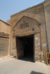 Iran - Shiraz: one of the gates of Vakil bazaar - photo by M.Torres