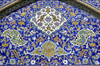 Iran - Isfahan: Mosque - inside - wall decoration - Meidan Emam - Unesco world heritage site - photo by W.Allgower