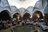 Iran - Shiraz: main hall of the Vakil baths, now a restaurant - photo by M.Torres