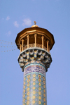 Iran - Shiraz: minaret - mausoleum of Sayyed Aladdin Hossein - photo by M.Torres