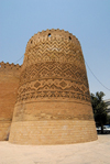 Iran - Shiraz: Karim Khan Zand citadel - tower on Shohada Square - photo by M.Torres