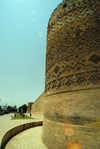 Iran - Shiraz: tower and ramparts - Karim Khan Zand citadel - photo by M.Torres