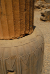Iran - Persepolis: Hall of 100 columns - column base - photo by M.Torres
