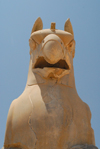 Iran - Persepolis: Homa bird - front view - photo by M.Torres