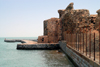 Iran - Hormuz island / Ilha de Ormuz: Portuguese castle of Nossa Senhora da Victoria - built on a promomtory - photo by M.Torres