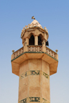 Iran - Hormuz island: minaret of the main mosque - photo by M.Torres